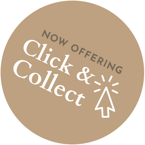 Mills Butchers Click and Collect badge